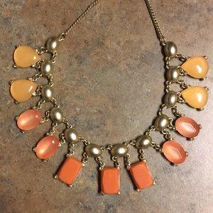 Warm Colored Loft Necklace